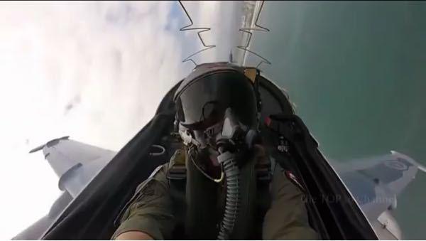 戦闘機に詳しい方に質問です。 キャノピーにある黒く波打った物はなんですか? また、こちらの機体はなにか分かりますか?