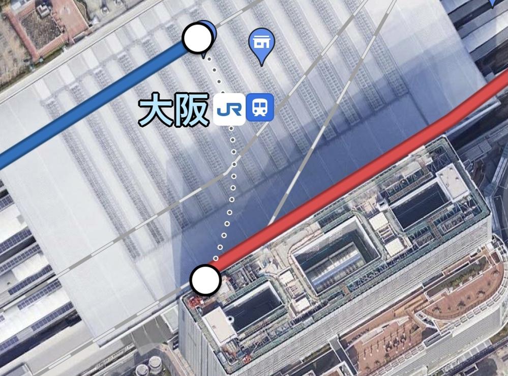 環状線の大阪城公園駅から大阪駅に着いて、そこからJR大阪駅に乗り換えてJR明石へ行きたいのですが、 その際は1度改札口を出ないといけないのですか? 分かりにくい説明ですみませんが教えて頂けるとありがたいです。 よろしくお願い致します。