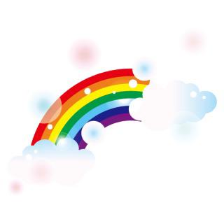虹といったら何色のイメージを思い浮かびますか?