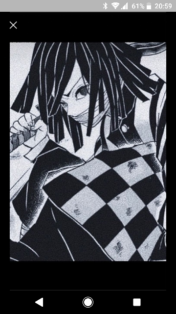 この画像のキャラクターの名前と漫画のタイトルを教えて下さい。