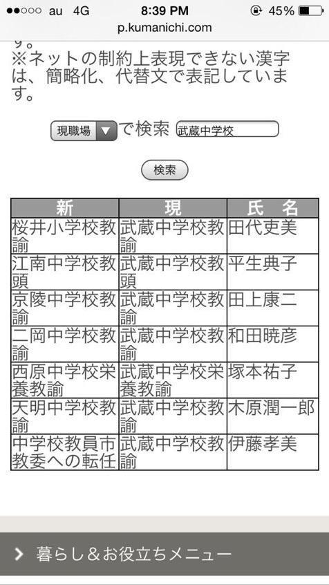 熊本日日新聞のサイトについてです。この検索するページってどこで見れますか?