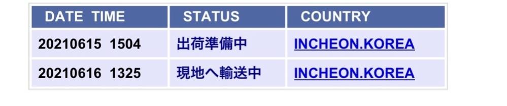 服の通販で韓国からFASTBOXで6/14に発送されて佐川に引渡し完了になっているのですが16日から動き無しです。届かないのでしょうか。