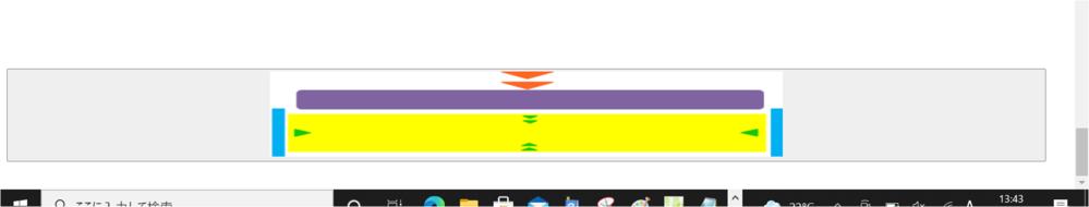 """入力されたデータを送信するための「送信ボタン」を画像付きのボタンのコードを書いているのですが、付属画像のように、 ボタンの大きさが横一杯に広がって灰色のようになって、しまうのですが、ボタンの大きさの縦幅と横幅の大きさを調節しても、適応されず困っています。 ボタンの画像自体の大きさは適応できています。 困っています。 コードは以下にあります。 <!DOCTYPE html> <html> <head> <meta content=""""text/html; charset=utf-8""""/> <title></title> <link rel=""""stylesheet"""" href=""""senden.css""""> <style type=""""text/css""""> /* 送信ボタンの位置 */ .auto-style3 { text-align: center;/* 送信ボタンを中央に配置 */ } /* 送信ボタンの代替画像位置 */ .auto-style4 { text-align: center;/* 画像を中央に配置 */ margin-top:87px ;/* 画像の上の余白 */ } /* 画像の大きさ調節 */ img.example8 { width: 50%; height: 100px; </style> </head> <body> <form action=""""form1.php"""" method=""""post""""> <div class=""""enter""""> <button type=""""submit"""" name =""""submit"""" class=""""auto-style4"""" height=""""70px"""" width=""""40px""""> <img src=""""senden15.png"""" alt=""""確認画面へ"""" class=""""example8""""/></button> </div> </form> </body> </html>"""