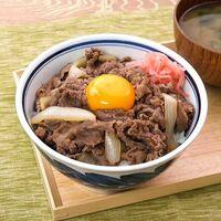 牛丼には紅ショウガ、七味、玉子、味噌汁は必須ですか?