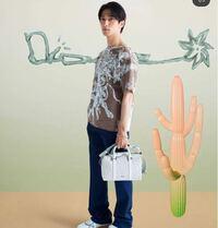 この横浜流星さんが持ってるDiorのバッグの 名前分かる方いませんか???   Dior ブランド ハイブランド ブランドバッグ ショルダーバッグ モノグラム