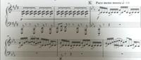 楽譜の指使いを教えて下さい。ピアノで右手だけです。画像のKから4の指使いを教えて下さい。 回答よろしくおねがいします。
