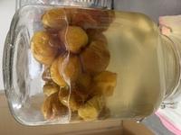 梅シロップを作っていますが これは発酵ですか? 逆さまにしたからできた泡ですか? 熱処理するか迷っています、、