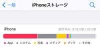 iPhoneストレージがこのような状態なのですが消せるアプリもないので「その他」をどうにかする方法はありますか