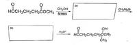 カルボニル基の保護、グリニャール反応、脱保護を必要とする変換です (a)(b)にはどのような構造が入るのでしょうか?