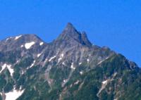 槍ヶ岳のあの尖った山体は どうやって造られたのですか?