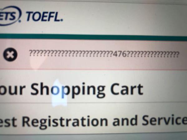 来年留学に行こうと考えている大学一年生です。トフルの申し込みをしようとクレジットカード情報を入力したところ、エラーが出続けてしまいました。下の画像のようなコードが出てきてしまいます。解決策を教えて頂き たいです。