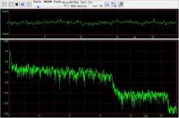 これはAC3 192kbps 48khzの音ですが20khzまで音あるじゃん。それ以上も一応あるじゃんと思ってしまうのですが、どう読めばいいんですか? x方向の右端の文字が20でy方向の下端が-140です。