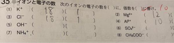 化学の質問です。この問題の5番からはどうしたら分かるのですか。暗記ですか