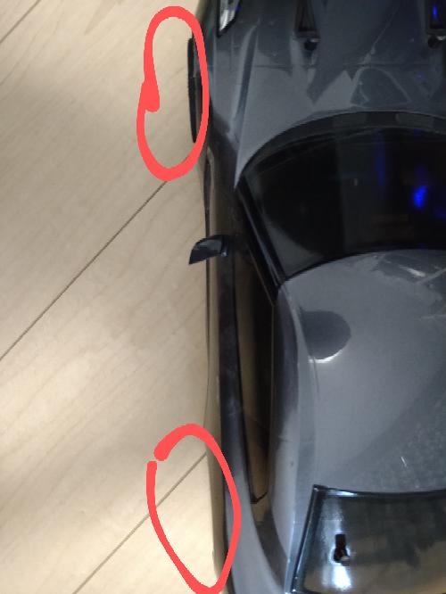 TT-01を二駆化したんですけどフロントとリアのタイヤのバランス?が悪いですなんとかできないでしょうか?