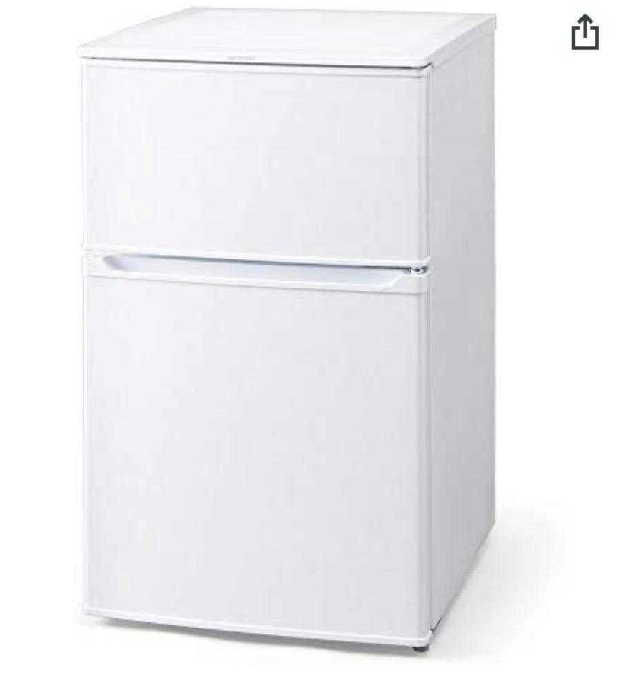 画像みたいな中くらいの冷蔵庫が欲しいのですがおすすめな物ありますか? 良ければURLとか貼っていただきたいです 冷凍庫と冷蔵庫が分かれてる 小さい縦長の物 90L〜100Lぐらい 値段は3万前後ぐらい 探してみたのですがいまいち選べなくて。 よろしくお願いします