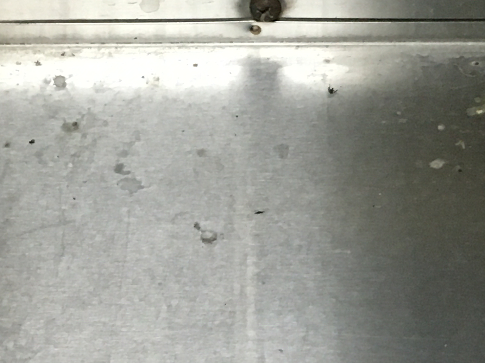 うちの部屋のマンションのポストの上に以前から、鳥のフンらしきものがあるのですが、何の生き物のフンでしょうか? 自分なりに調べたところ、外の天井の蛍光灯の辺りやその周りにいる蜘蛛ではないか、と予測...
