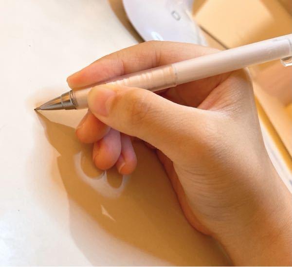 変な質問でごめんなさい。 このペンの持ち方は正しいですか?