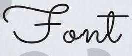 フォント こちらのフォントはなんというものでしょうか?