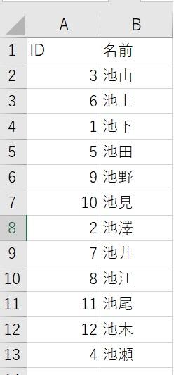 """Excel VBAでfunctionを勉強しています。 やりたいことは、二次元配列の並べ替えです。 ID順に(昇順)に並べ替えです ちなみに、一次元配列の並べ替えは、下記のようにしました。 戻り値を受け取る方法です。 Sub aaa() Dim z As Variant Dim a() As Variant Dim j As Long, i As Long maxrow = Cells(Rows.Count, """"A"""").End(xlUp).Row a = Application.Transpose(Range(""""A1:A22"""").Value) z = SortArray(a(), 0) For i = 1 To maxrow For j = 0 To UBound(z) Cells(i, 2) = z(i) Next j Next i End Sub Function SortArray(X() As Variant, Optional s As Long = 0) As Variant Dim k As Long Dim ub As Long Dim y() As Variant ub = UBound(X) ReDim y(ub) For k = 1 To ub If s = 0 Then y(k) = WorksheetFunction.Small(X(), k) Else y(k) = WorksheetFunction.Large(X(), k) End If Next k SortArray = y() End Function このコードを参考に、二次元配列の並べ替えを考えました。 トンチンカンな質問かもしれませんが 考えたことは、 1.Functionに範囲を渡して並べ替えをして、結果をSubに返す 2.配列の戻り値をSubに返す。 それで、下記のコードを考えましたが、途中で分からなくなりました。 Sub 並べ替え() Dim myarr() As Variant myarr = Range(""""A1:B22"""") ここのコードがわからないです。 End Sub Function myArray(myRange As Range) As Variant Dim i As Long, j As Long For i = LBound(myarr, 1) To UBound(myarr, 1) For j = LBound(myarr, 2) To UBound(myarr, 2) ここのコードがわからないです。 Next j Next i End Function 配列の戻り値でできなくて、範囲を渡すほうでも考えましたができまでんでした。 お手数ですが、ご教示をお願いします。"""
