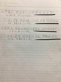 発音をハングルで書きました。ラインを引いた部分はあっていますでしょうか。教えてください。