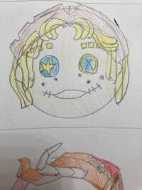 友達にあげるアイシングクッキーの下書きです! 第五人格のキャラクター「曲芸師」に見えますか?