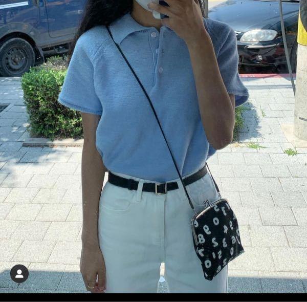 写真のsousouのバッグを探しています。 紐が短いのがま口のものしか売っていないのですか?紐が長い写真のバッグが売っていればリンク送ってほしいです!