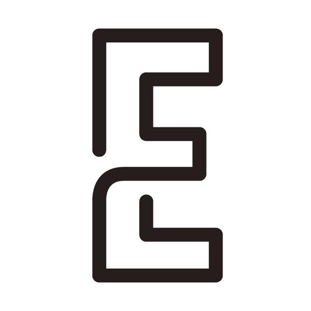 この「E」のフォントは何でしょうか?