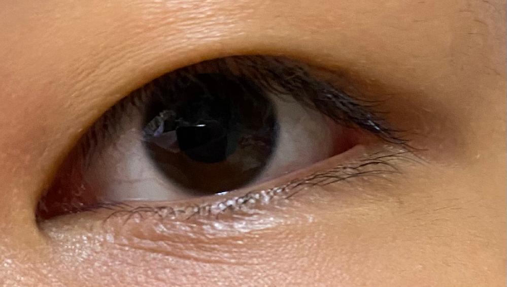 私の目の特徴を教えてほしいです。 蒙古壁や切開ラインがあるかないか など... 自分の目の特徴が つり目で奥二重であることしか分からなくて...教えてほしいです。