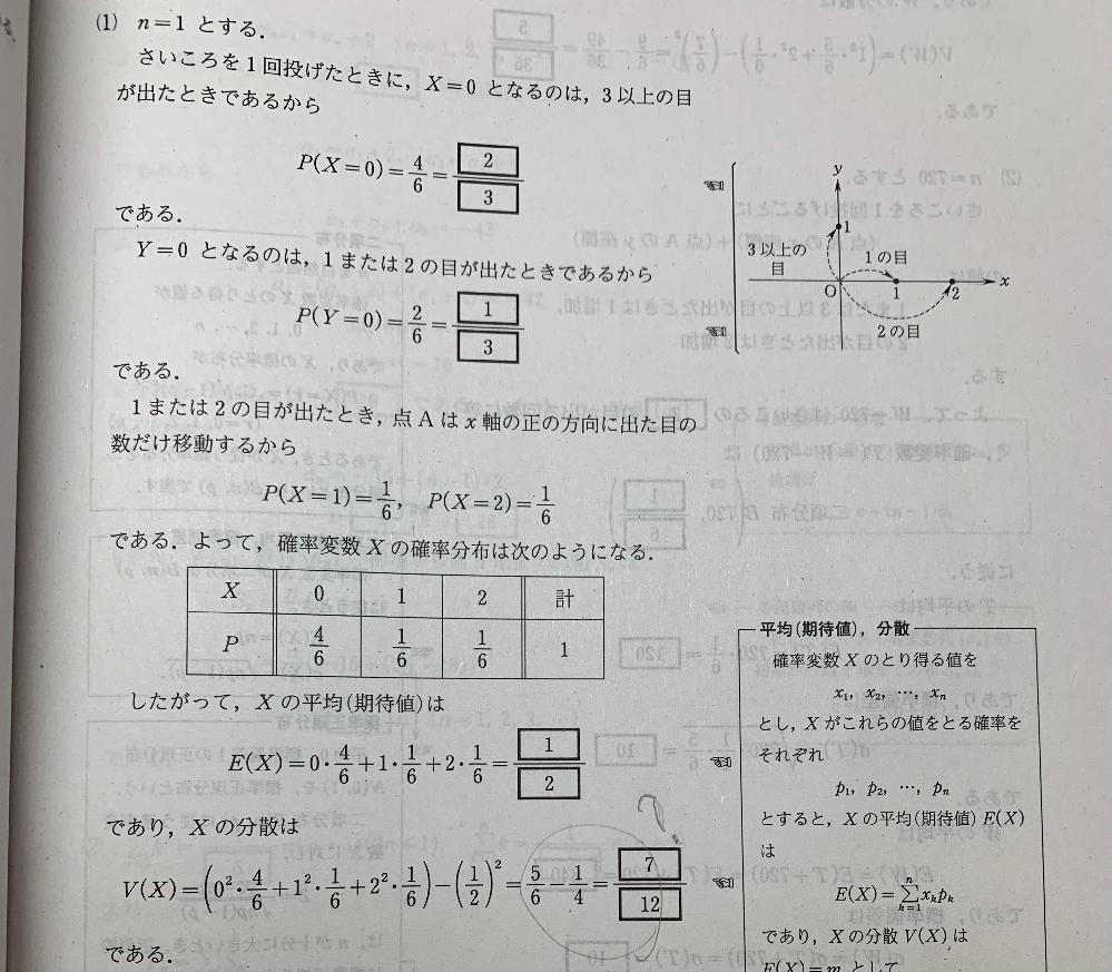 なぜV(X)からE(X)の2乗を引いているのですか?