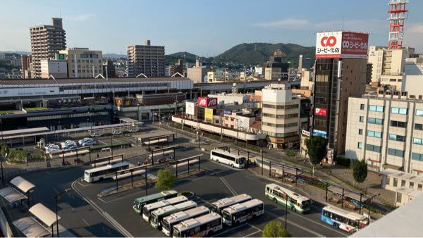 福山駅前バスターミナルは立派ですが、全国的に見ても立派ですか?
