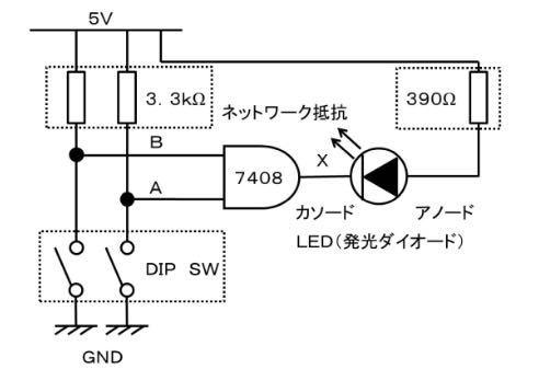 この回路をブレッドボードで組みたいのですが、組み方が分かりません。教えてもらえるとありがたいです。