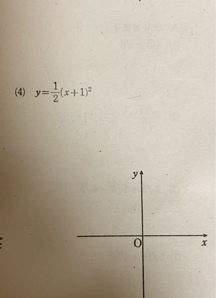 この頂点と軸とグラフを書いてくれませんか? お願いします