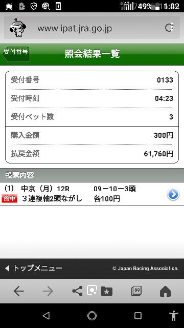 函館10レース 6ー7ー2.3.9.10 なにかいますか?