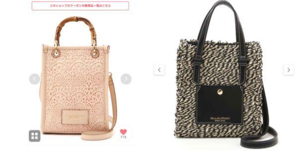 どちらのバッグの方が良いと思いますか?