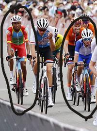 東京オリンピックの男子ロードレースに出場していた選手のこのバイクはどこのメーカーのものか教えて下さい。