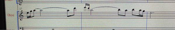 オーボエ吹きの方に質問です この画像の高音は吹きにくいですか? 奏者からして、どの音から高音域だと感じますか?