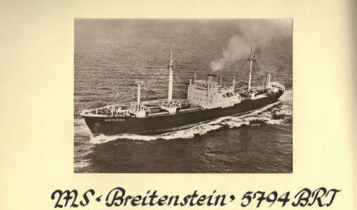 なぜこの船(Breitenstein ブレーメン~ニューヨーク 1956)はボルチモアやフィラデルフィアに寄港したの❓