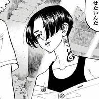 東京リベンジャーズの未来の黒髪マイキー風センターパートにしたいんですけどオーダーのときなんと言えばいいですか?漫画のシーン見せるのはさすがに無理ですかね?マイキーのセンターパートに近い写真とかあればお 願いします