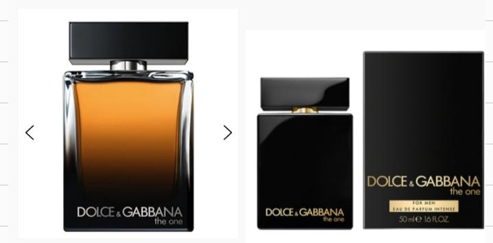 ドルガバのこの2つの香水って同じやつなんですか?お父さんに誕生日プレゼントで買ってあげようと思ってて、、、 ドルチェ&ガッバーナ ザ・ワン フォーメン オードパルファム