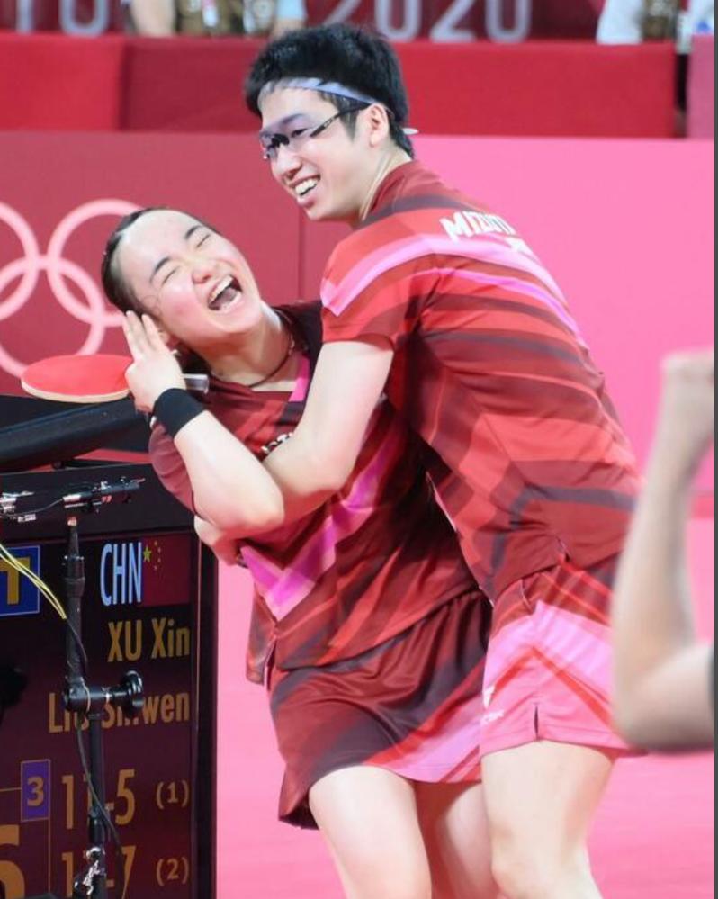水谷選手の伊藤美誠選手への抱きつきが問題視されていますが、最悪水谷選手のメダル剥奪の可能性もあるのですか?