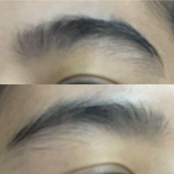 この眉毛の整え方教えてください 調べてもどういう形にすればいいのか全然分からなくて…
