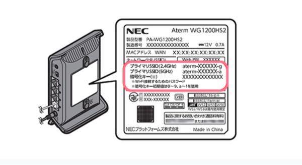 家のWiFiをみるとSSID 2種類書いてあるのですが、この2種類の違いはなんですか? 2G と 5Gとかいてあります。画像みたいなやつです。
