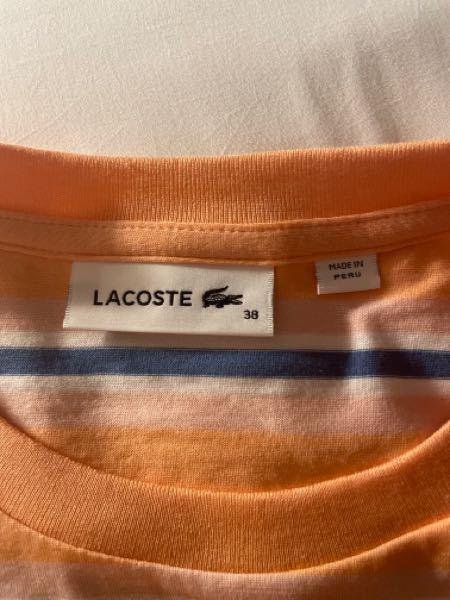 こちらのLACOSTEは本物でしょうか? Tシャツを購入したのですが思っていたより薄手で心配になりました。