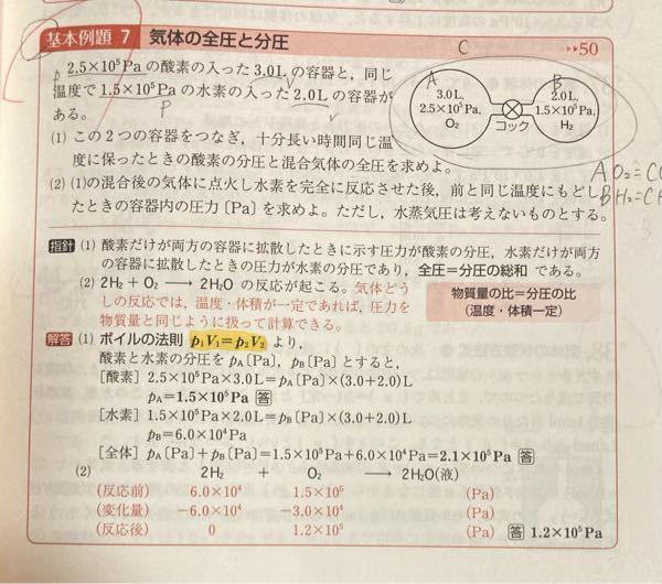 高校化学の 問題です。(2)がわかりません…!教えて欲しいです(ᐡ _ _ ᐡ)