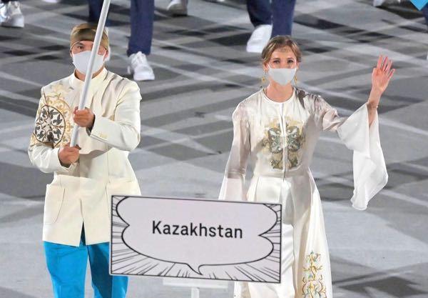 カザフスタン美女は、競技に出ないのですか?