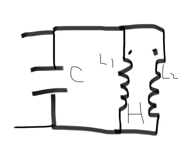電気回路の質問です この回路の合成インピーダンスの求め方が分かりません。 コイルは相互誘導をしています 相互インダクタンスはM(H) コイルのインダクタンスはどちらともL(H) コンデンサーの容量はC(F) でお願いします。