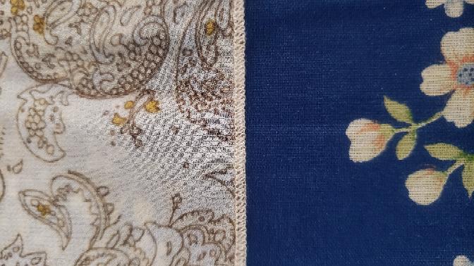 ①これはフレアスカートの裾なんですが、この縫い方はどういう縫い方でしょうか? ②家庭用のミシンでこの機能が付いているものはありますか? よろしくお願いしますm(_ _)m