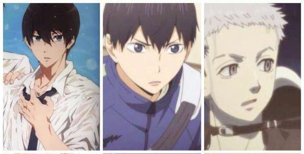 この3人のキャラクターの名前わかる方いますか?