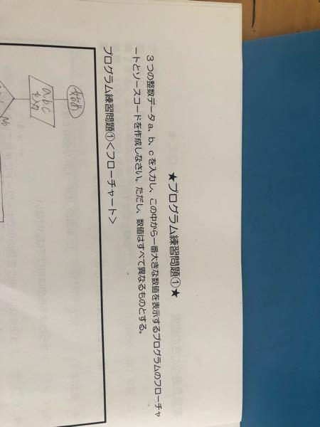このc言語の問題のソースコードを教えてください