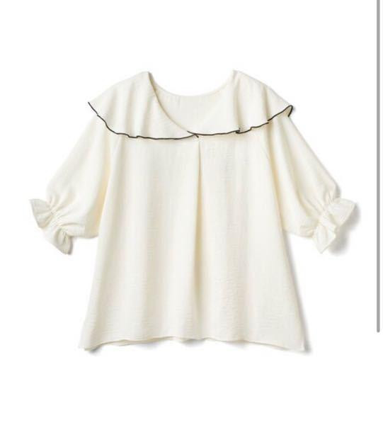 バイト面接の服装について 襟付きブラウスといえばこれしか持っていないのですが、これか白の無地Tシャツどちらの方が良いでしょうか? 下は黒いパンツにスニーカーか黒いパンプスで行くつもりです。雑貨屋さんです。